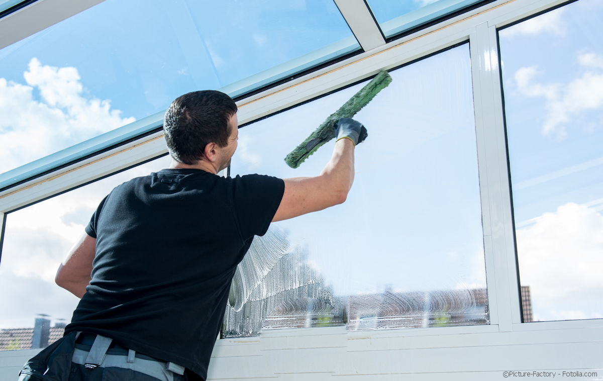 Glasreinigung: Fenster, Glasfassaden, wintergärten und Glasdächer